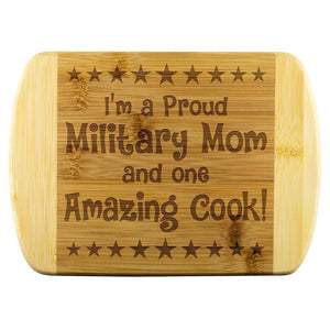 Military Mom & Amazing Cook Cutting Board | Heroic Defender