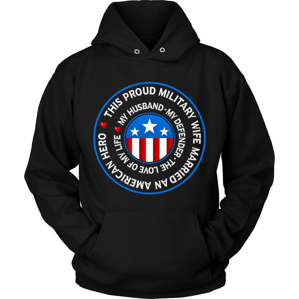 "Military Wife ""Love of My Life"" Sweatshirt 