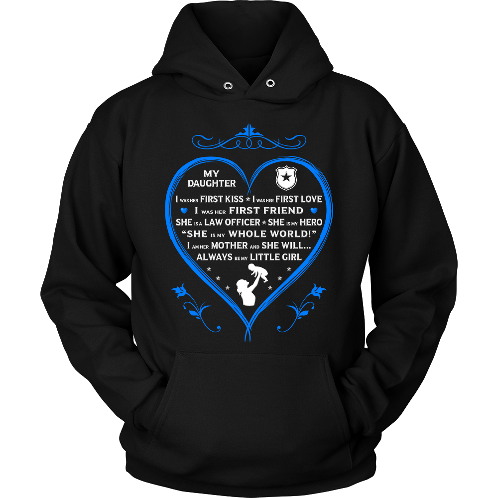 "Police Mom ""I Am Her Mother"" Sweatshirt 
