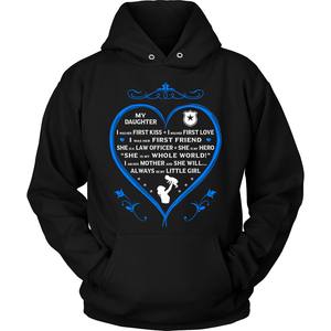 "Police Mom ""I Am Her Mother"" Sweatshirt - Heroic Defender"