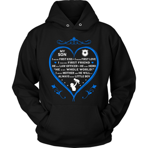"Police Mom ""I Am His Mother"" Sweatshirt 