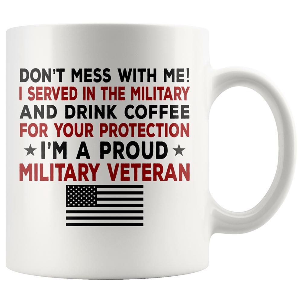 Proud Military Veteran Coffee Mug | Heroic Defender
