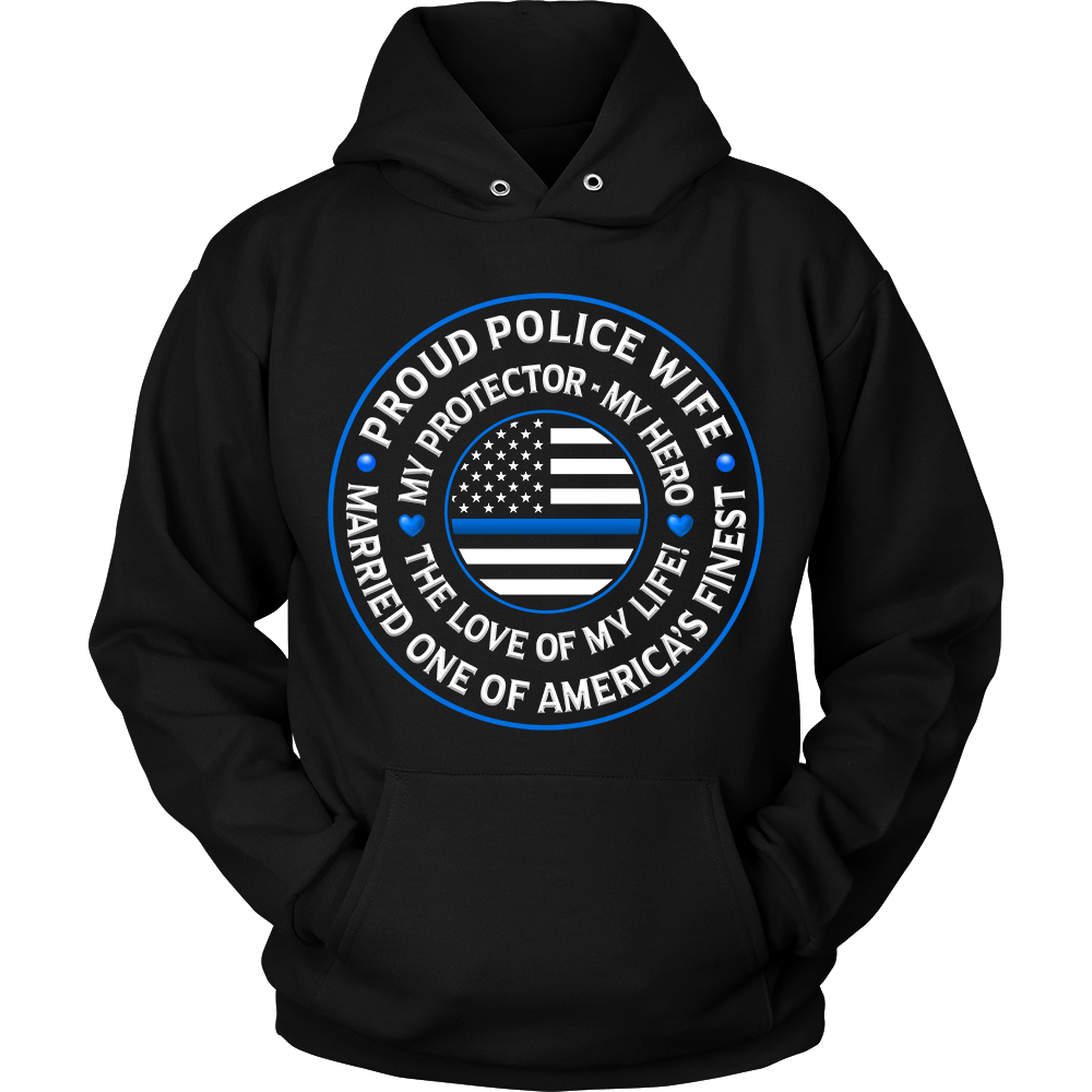 "Police Wife ""Love of My Life"" Sweatshirt 