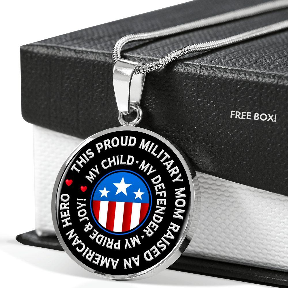 "Military Mom ""Pride and Joy"" Necklace 