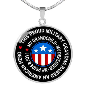 "Military Grandma ""Pride and Joy"" Necklace 