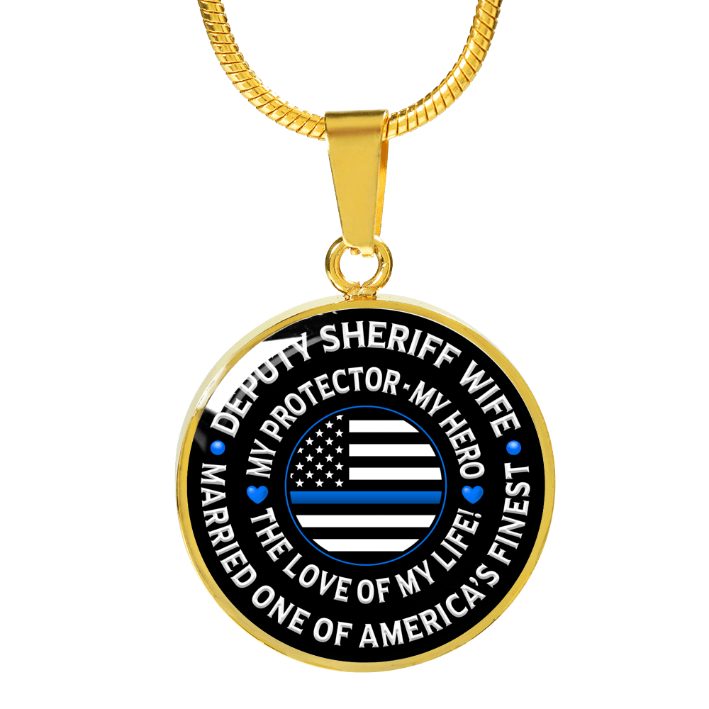 "Deputy Sheriff Wife ""Love of My Life"" Necklace 