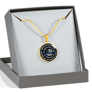 "Police Grandma ""Pride and Joy"" Necklace 