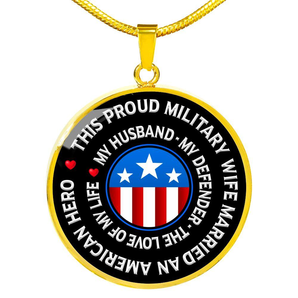 "Military Wife ""Love of My Life"" Necklace 