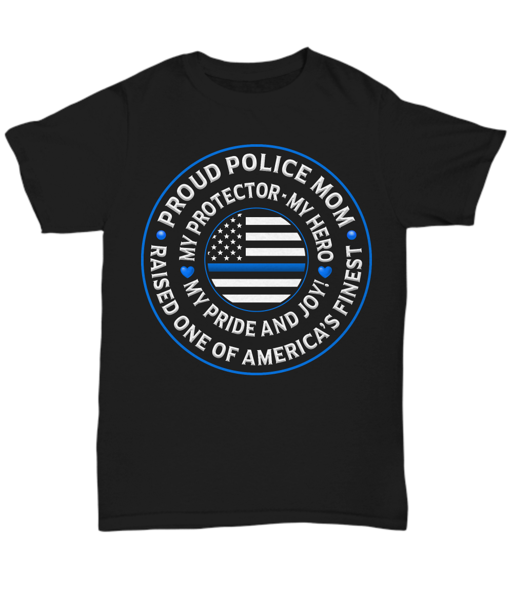 "Police Mom ""Pride and Joy"" Shirt 