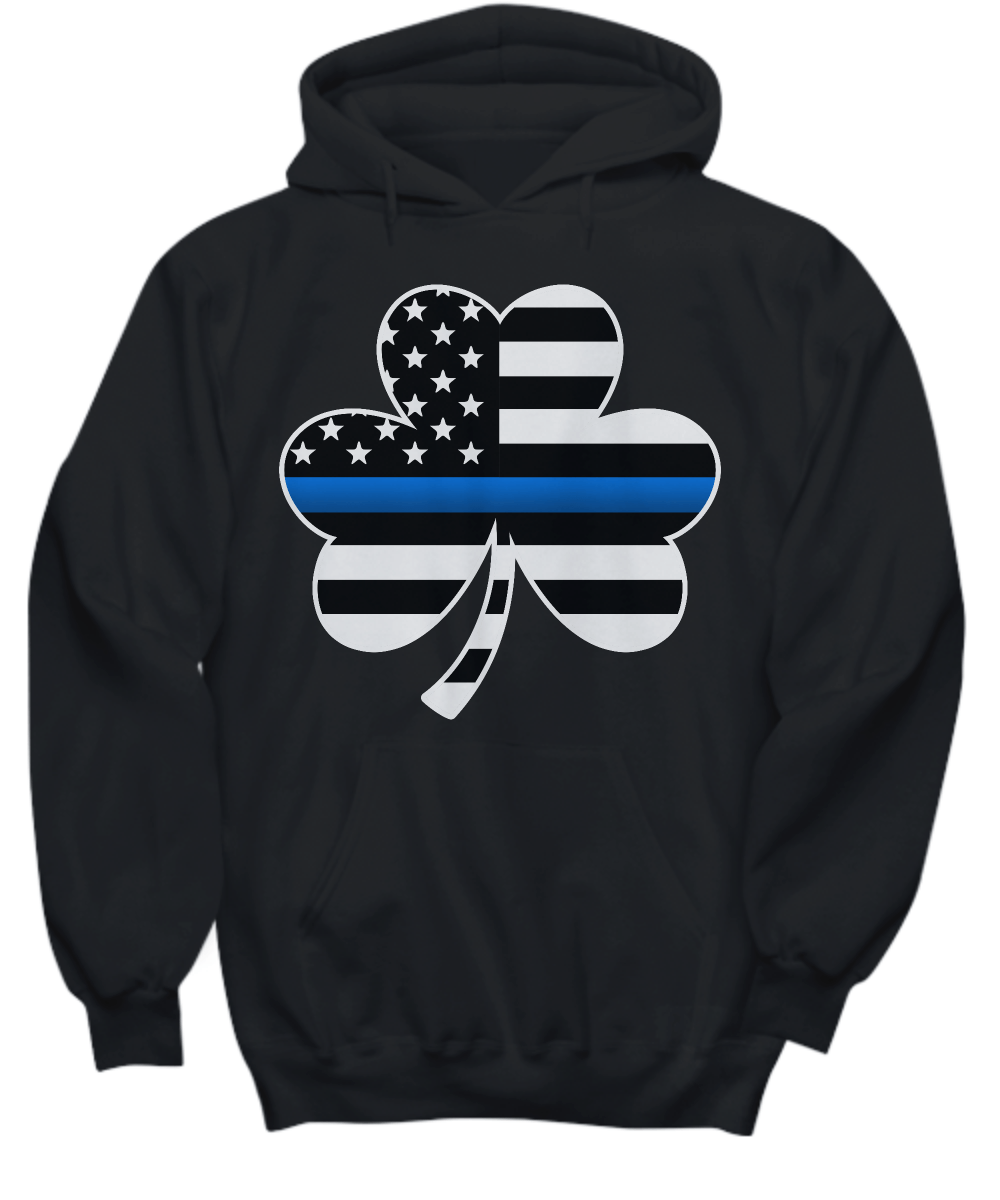 Thin Blue Line Saint Patrick's Day Sweatshirt | Heroic Defender