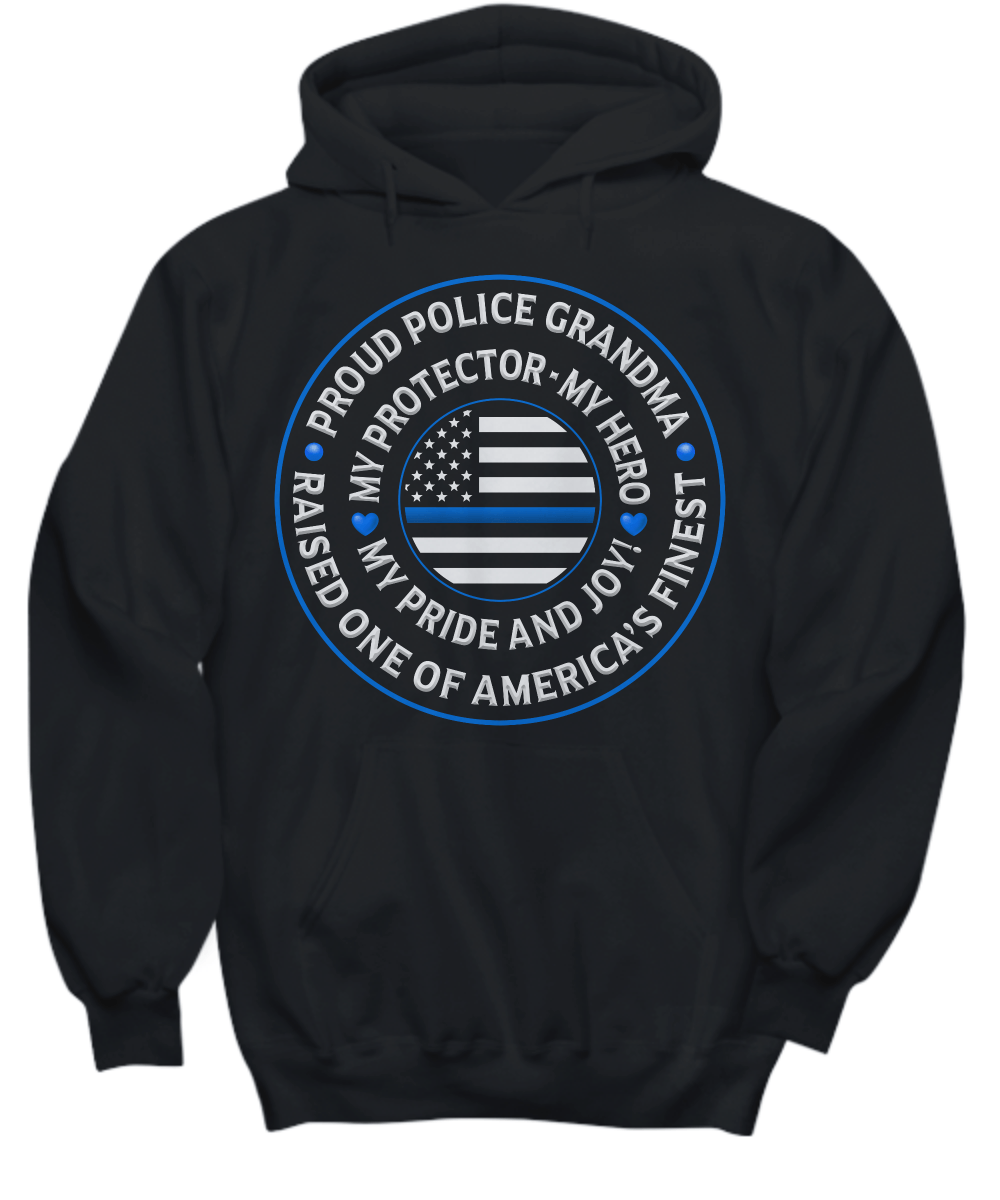 "Police Grandma ""Pride and Joy"" Sweatshirt 