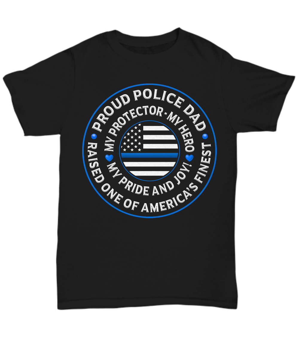 "Police Dad ""Pride and Joy"" Shirt 
