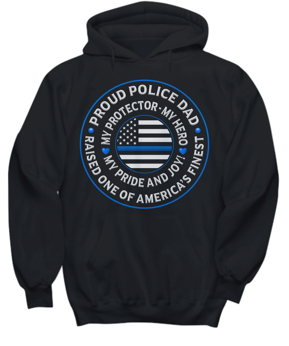 "Police Dad ""Pride and Joy"" Sweatshirt 