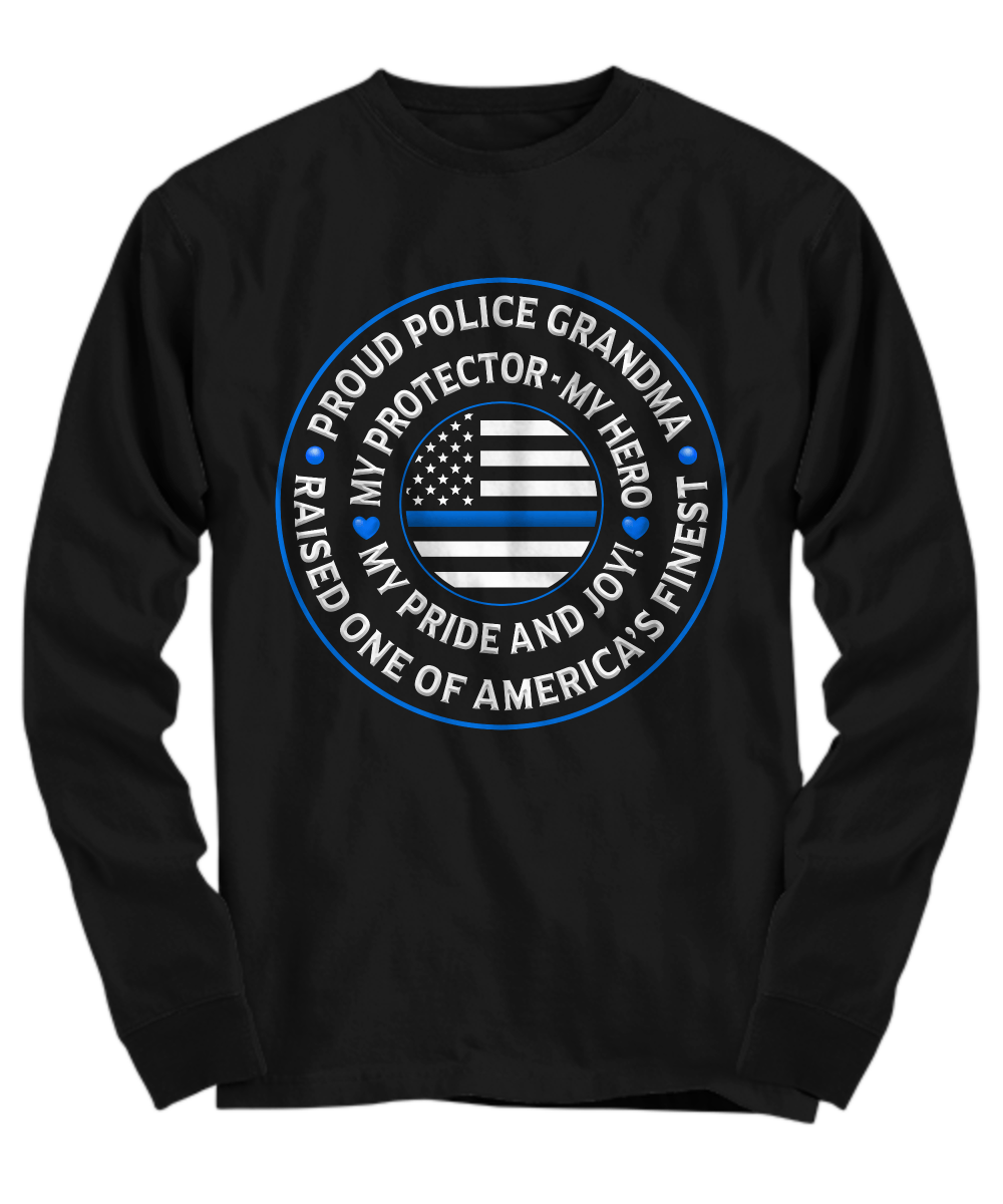 "Police Grandma ""Pride and Joy"" Shirt 