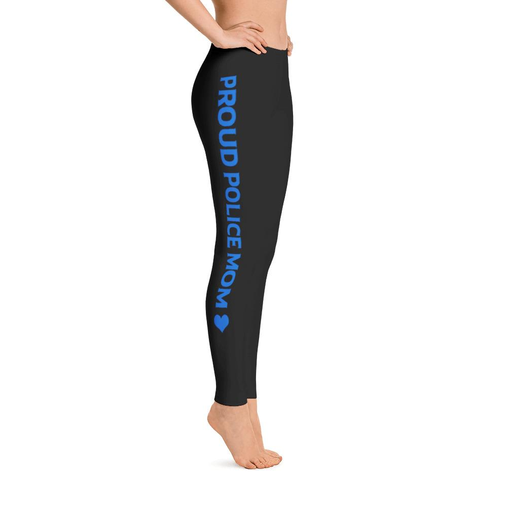 Proud Police Mom Leggings | Heroic Defender