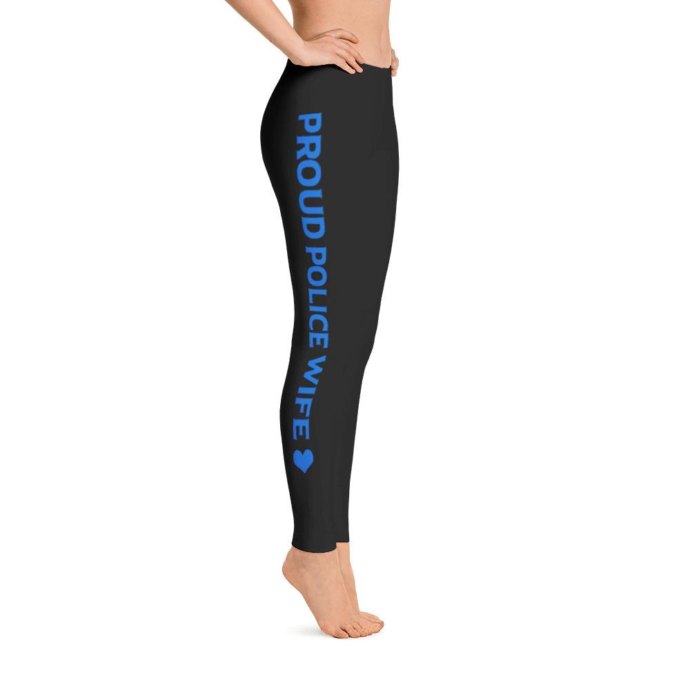 Proud Police Wife Leggings | Heroic Defender