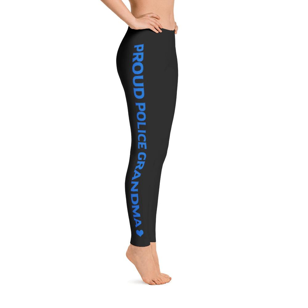 Proud Police Grandma Leggings | Heroic Defender