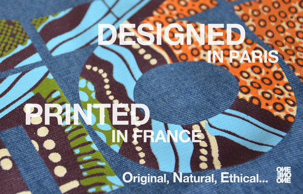 Designed in Paris - Printed in France