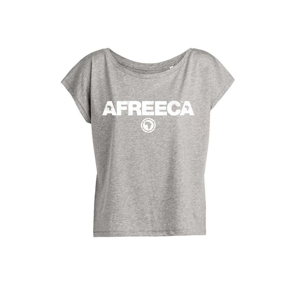 ONE ONE ONE - AFREECA - Top Femme - Gris chiné