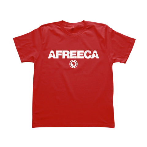 ONE ONE ONE - AFREECA - Tshirt Homme - Rouge