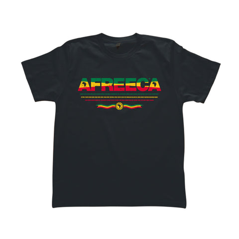 AFREECA Red Gold Green - T-Shirt