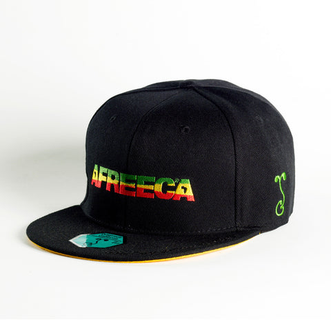 Casquette AFREECA RED GOLD GREEN