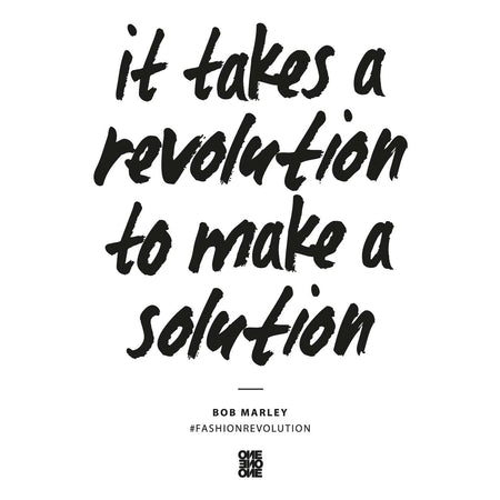 ONE ONE ONE - It takes a revolution to make a solution