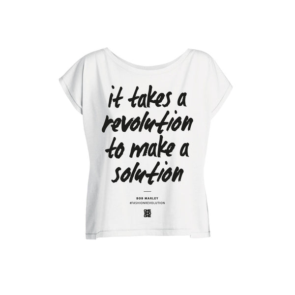 ONE ONE ONE - Fashion Revolution - Tshirt Femme