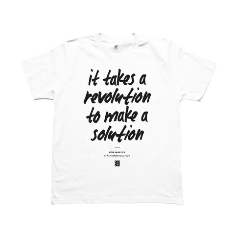 ONE ONE ONE - Fashion Revolution - Tshirt