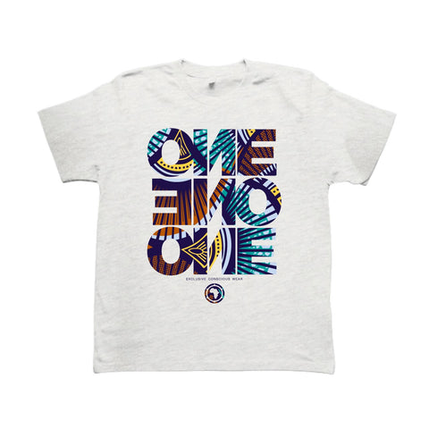 ONE ONE ONE - Wax LS15 - Tshirt - Gris