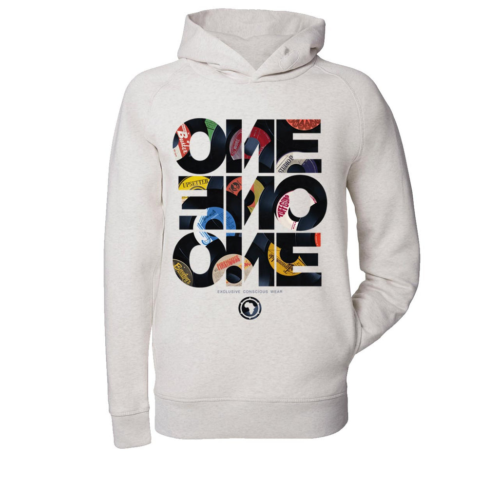 ONE ONE ONE - Forty Five - Hoodie - Gris clair