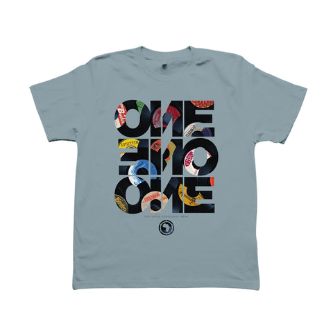 FORTY FIVE - T-Shirt Bleu