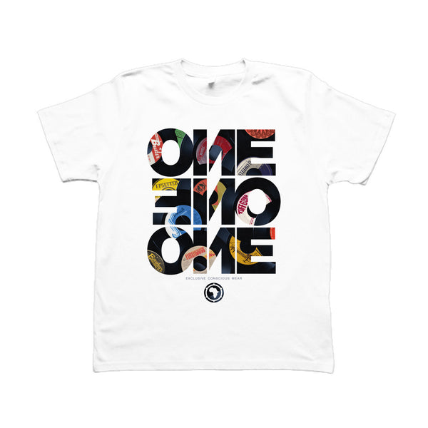 FORTY FIVE - T-Shirt Blanc