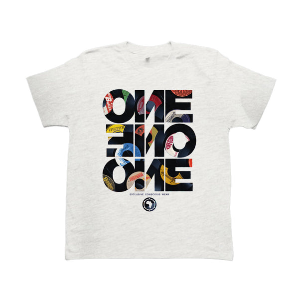 ONE ONE ONE - Forty Five - Tshirt Gris