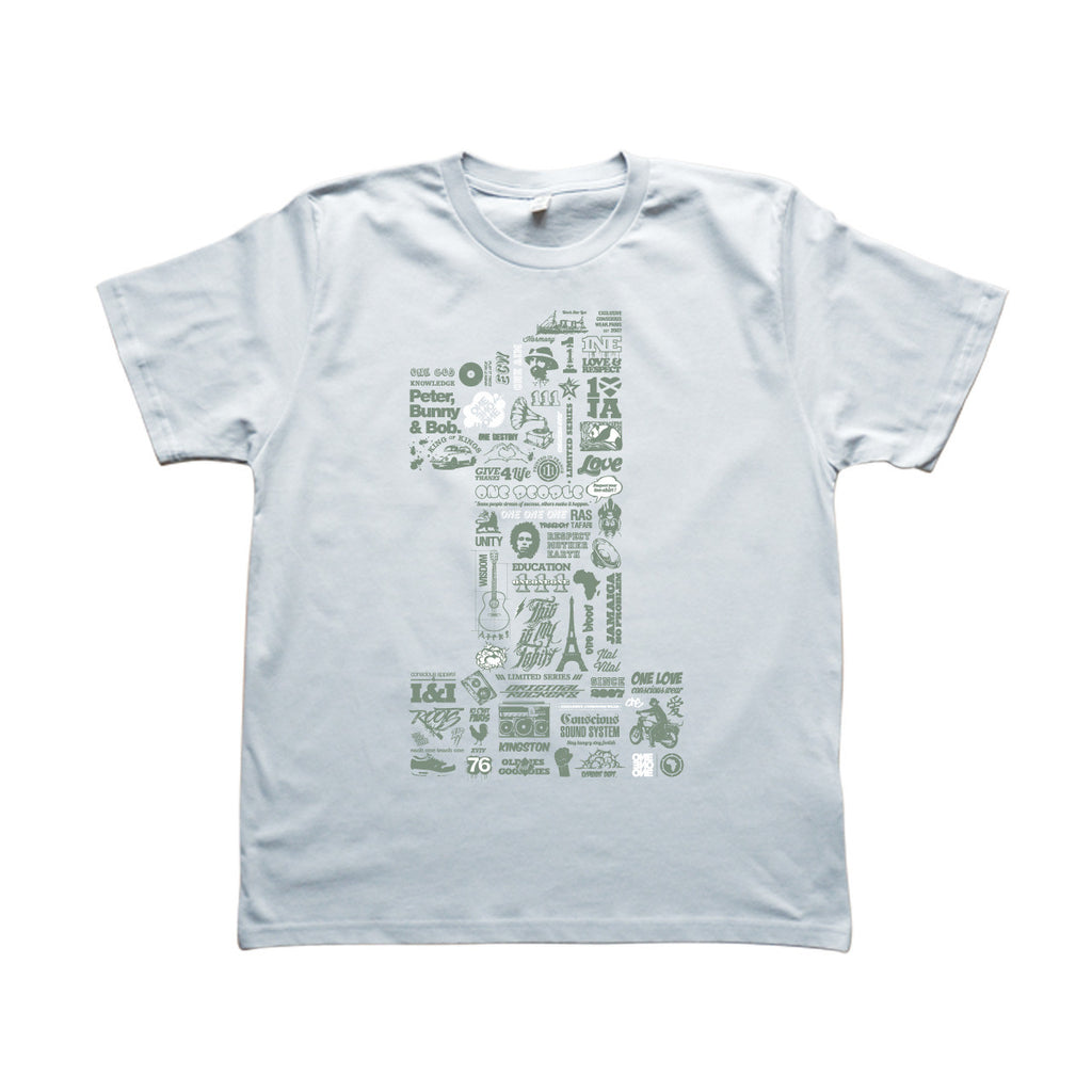 ONE - T-Shirt Gris
