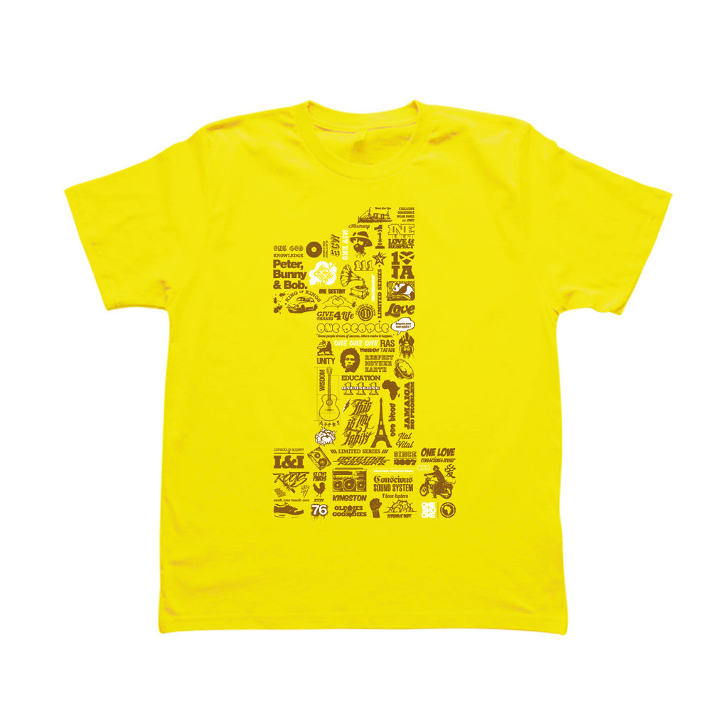 ONE - T-Shirt Jaune