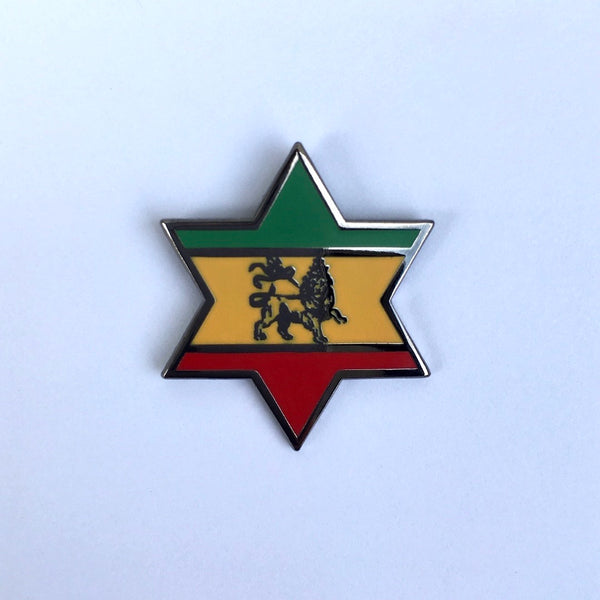 Pin's Rasta Lion Of Judah