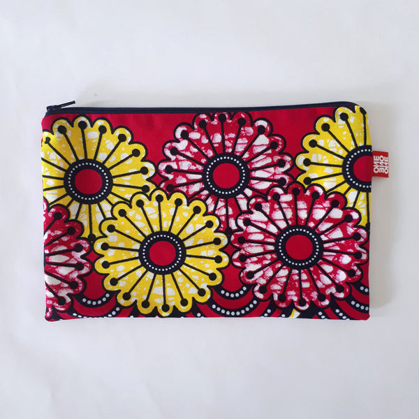 Pochette Grand Format WAX Flower Power