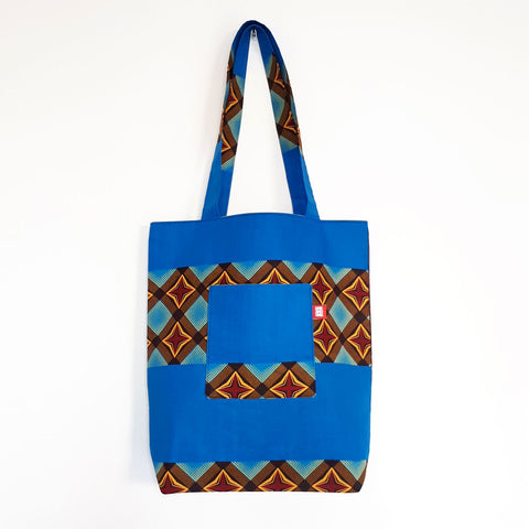 ONE ONE ONE - Tote bag reversible - Java