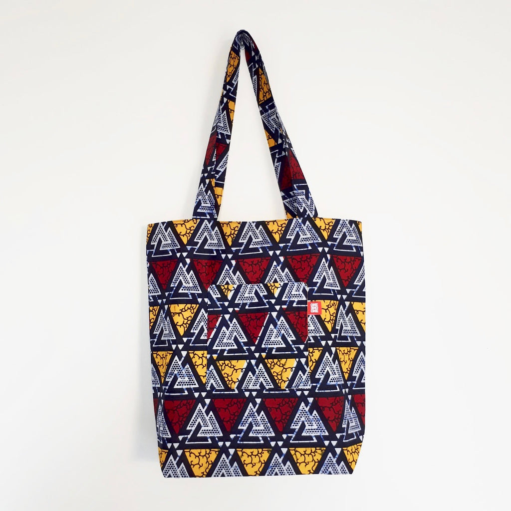 Tote bag wax réversible Blue Mountains