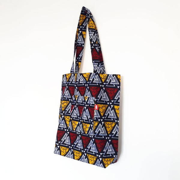 ONE ONE ONE - Tote bag wax reversible - Blue Mountains
