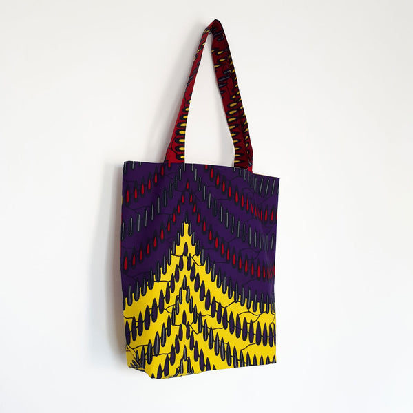 ONE ONE ONE - Tote bag wax - Color waves