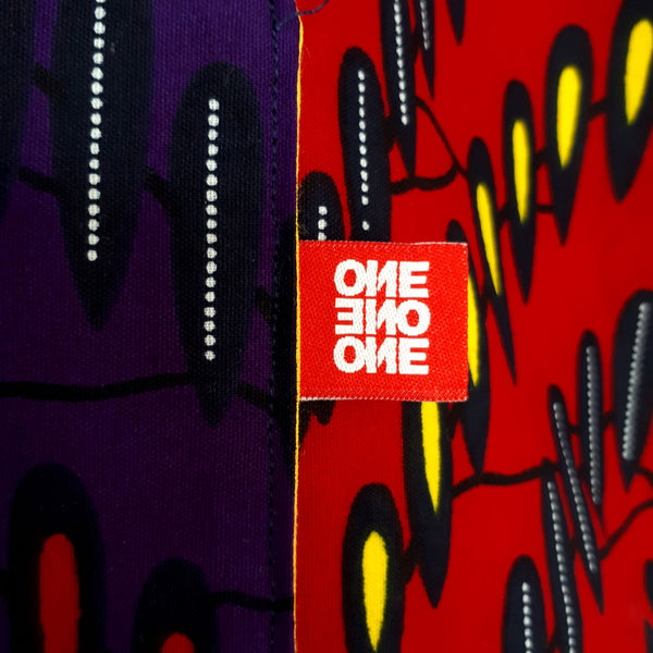 ONE ONE ONE - Tote bag wax - Color wave