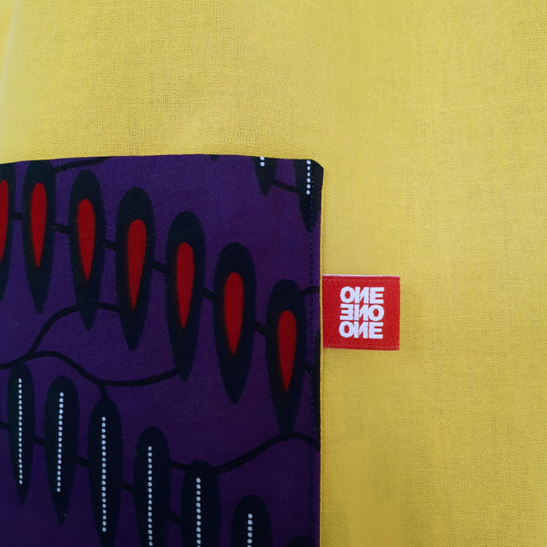 ONE ONE ONE - Tote bag wax - Color wave - Verso