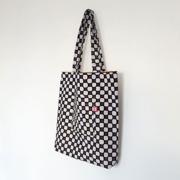 ONE ONE ONE - Tote bag reversible - Domino