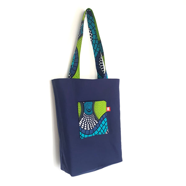 ONE ONE ONE - Tote bag wax reversible - Fresh verso