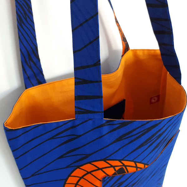 ONE ONE ONE - Tote bag reversible wax - Ventilo