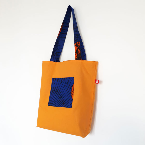 ONE ONE ONE - Tote bag reversible wax - Ventilo - Verso