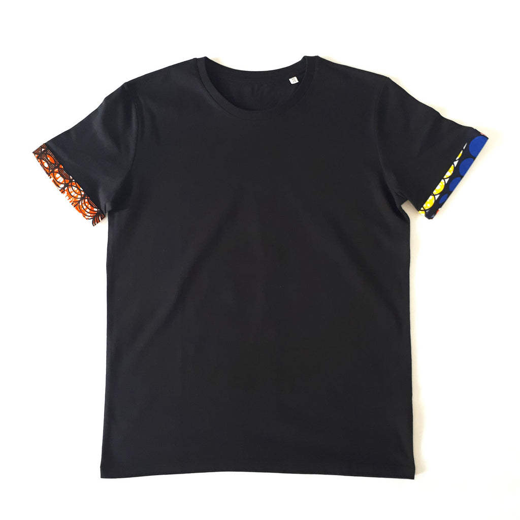 ONE ONE ONE - Tshirt Homme ourlet wax upcyclé - Bubble Gum