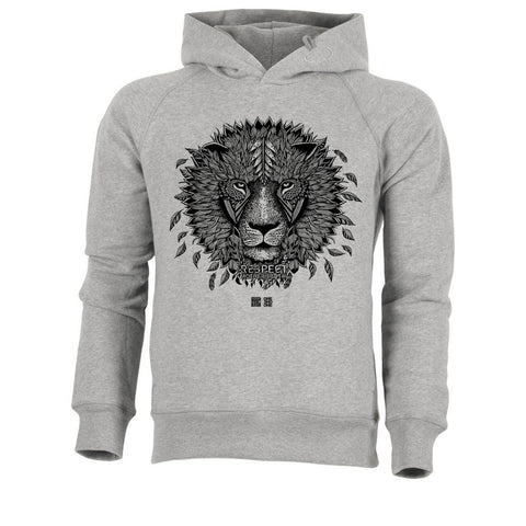 ONE ONE ONE - Lion by V. Hugo - Hoodie